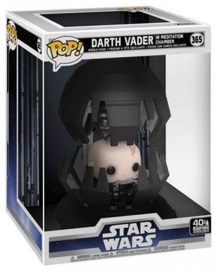 Коллекционная фигурка Funko POP! Bobble: Deluxe: Star Wars: Darth Vader in Meditation